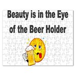 beer beauty large Jigsaw Puzzle (Rectangular)