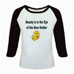 beer beauty large Kids Baseball Jersey