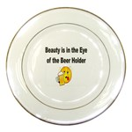 beer beauty large Porcelain Plate