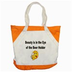 beer beauty large Accent Tote Bag