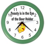 beer beauty large Color Wall Clock