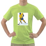 hockey player Green T-Shirt