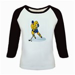 hockey player Kids Baseball Jersey