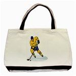hockey player Classic Tote Bag