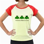Different is Good - Frog Women s Cap Sleeve T-Shirt