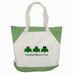 Different is Good - Frog Accent Tote Bag