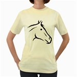 j0325560 Women s Yellow T-Shirt