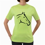 j0325560 Women s Green T-Shirt