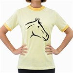 j0325560 Women s Fitted Ringer T-Shirt