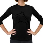 j0325560 Women s Long Sleeve Dark T-Shirt