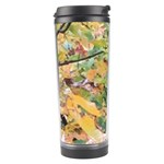 Yellow and Green Leaves Travel Tumbler
