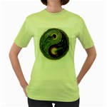 Dolphins Women s Green T-Shirt