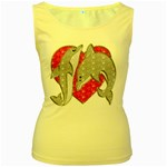 Women s Yellow Tank Top