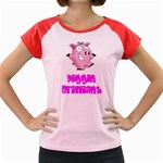 Pigs Women s Cap Sleeve T-Shirt