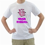 Pigs White T-Shirt