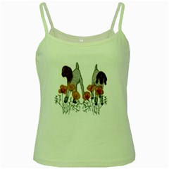 Green Spaghetti Tank by fayetteamcreate
