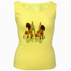 Women s Yellow Tank Top by fayetteamcreate