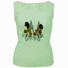 Women s Green Tank Top by fayetteamcreate