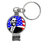 Barack Obama Nail Clippers Key Chain