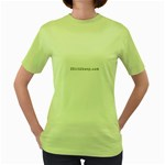 2 dirtcheap index Women s Green T-Shirt