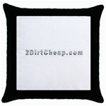 2 dirtcheap index Throw Pillow Case (Black)