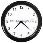 2 dirtcheap index Wall Clock (Black)