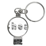 2 dirtcheap index Nail Clippers Key Chain