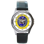 aphi que apo Round Metal Watch