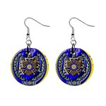aphi que apo 1  Button Earrings