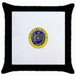aphi que apo Throw Pillow Case (Black)