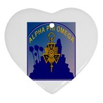 a phi que Ornament (Heart)