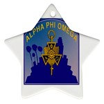 a phi que Ornament (Star)