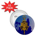 a phi que 1.75  Button (10 pack)