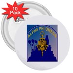 a phi que 3  Button (10 pack)