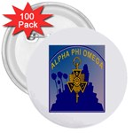 a phi que 3  Button (100 pack)