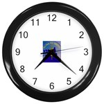 a phi que Wall Clock (Black)