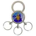 a phi que 3-Ring Key Chain