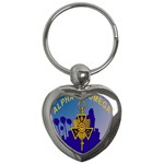 a phi que Key Chain (Heart)