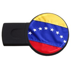 Flag USB Flash Drive Round (1 GB) by classicwatches