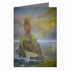 mermaid s perch Greeting Card by dashinvaine