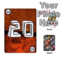 Geschenkt P2 By Jason Spears   Playing Cards 54 Designs   Cev8whi5rtjf   Www Artscow Com Front - Heart8