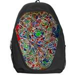 Pop Art - Spirals World 1 Backpack Bag