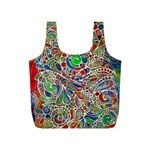 Pop Art - Spirals World 1 Full Print Recycle Bag (S)