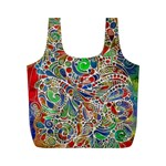Pop Art - Spirals World 1 Full Print Recycle Bag (M)