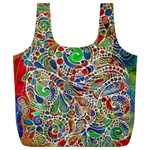 Pop Art - Spirals World 1 Full Print Recycle Bag (XL)