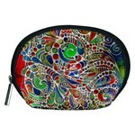 Pop Art - Spirals World 1 Accessory Pouch (Medium)