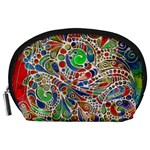 Pop Art - Spirals World 1 Accessory Pouch (Large)
