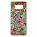 Pop Art - Spirals World 1 Samsung Galaxy S8 White Seamless Case