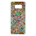 Pop Art - Spirals World 1 Samsung Galaxy S8 Plus White Seamless Case