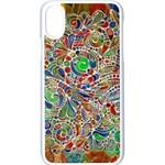 Pop Art - Spirals World 1 iPhone X Seamless Case (White)